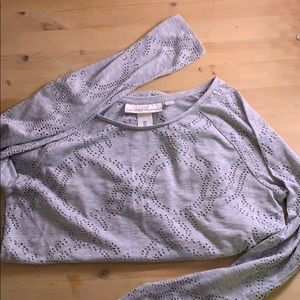 L.O.G.G. By H&M adorable laser cut GREY S